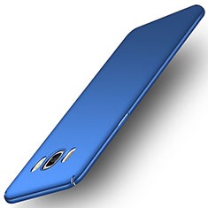 Schutzhülle Kunststoff Tasche Matt M01 für Samsung Galaxy J7 (2016) J710F J710FN Blau