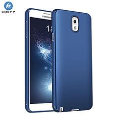 Schutzhülle Kunststoff Tasche Matt M01 für Samsung Galaxy Note 3 N9000 Blau