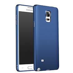 Schutzhülle Kunststoff Tasche Matt M01 für Samsung Galaxy Note 4 SM-N910F Blau