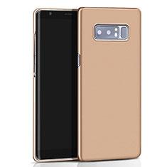 Schutzhülle Kunststoff Tasche Matt M01 für Samsung Galaxy Note 8 Gold
