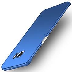 Schutzhülle Kunststoff Tasche Matt M01 für Samsung Galaxy S6 Edge SM-G925 Blau