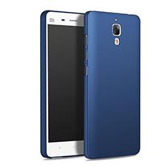 Schutzhülle Kunststoff Tasche Matt M01 für Xiaomi Mi 4 LTE Blau