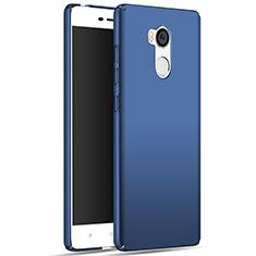Schutzhülle Kunststoff Tasche Matt M01 für Xiaomi Redmi 4 Prime High Edition Blau