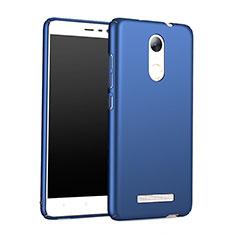 Schutzhülle Kunststoff Tasche Matt M01 für Xiaomi Redmi Note 3 Blau