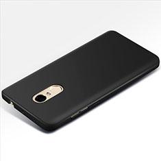 Schutzhülle Kunststoff Tasche Matt M01 für Xiaomi Redmi Note 4X High Edition Schwarz