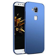 Schutzhülle Kunststoff Tasche Matt M02 für Huawei G7 Plus Blau