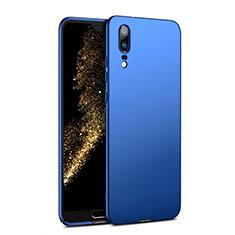Schutzhülle Kunststoff Tasche Matt M02 für Huawei P20 Blau