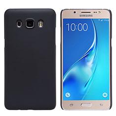 Schutzhülle Kunststoff Tasche Matt M02 für Samsung Galaxy J5 Duos (2016) Schwarz