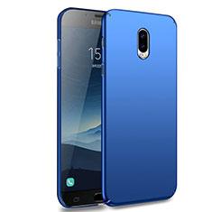 Schutzhülle Kunststoff Tasche Matt M02 für Samsung Galaxy J7 Plus Blau