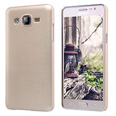 Schutzhülle Kunststoff Tasche Matt M02 für Samsung Galaxy On5 Pro Gold