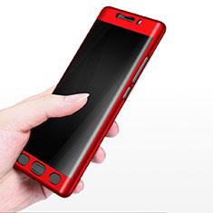 Schutzhülle Kunststoff Tasche Matt M02 für Xiaomi Mi Note 2 Rot