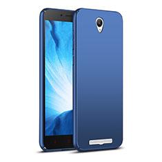 Schutzhülle Kunststoff Tasche Matt M02 für Xiaomi Redmi Note 2 Blau