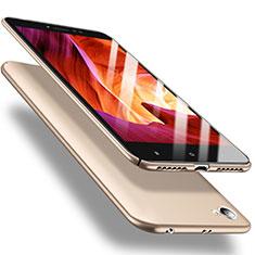Schutzhülle Kunststoff Tasche Matt M02 für Xiaomi Redmi Note 5A Standard Edition Gold