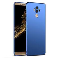 Schutzhülle Kunststoff Tasche Matt M03 für Huawei Mate 10 Pro Blau