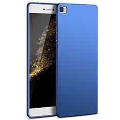 Schutzhülle Kunststoff Tasche Matt M03 für Huawei P8 Lite Blau