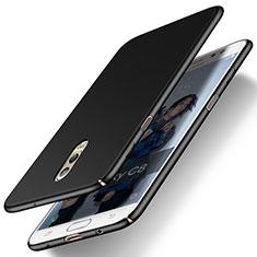 Schutzhülle Kunststoff Tasche Matt M03 für Samsung Galaxy C8 C710F Schwarz