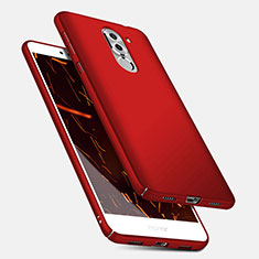 Schutzhülle Kunststoff Tasche Matt M04 für Huawei Honor 6X Rot
