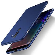 Schutzhülle Kunststoff Tasche Matt M04 für Samsung Galaxy A6 Plus (2018) Blau