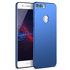Schutzhülle Kunststoff Tasche Matt M05 für Huawei Honor 8 Blau