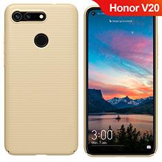 Schutzhülle Kunststoff Tasche Matt M05 für Huawei Honor View 20 Gold