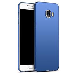 Schutzhülle Kunststoff Tasche Matt M05 für Samsung Galaxy C7 SM-C7000 Blau