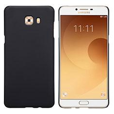 Schutzhülle Kunststoff Tasche Matt M05 für Samsung Galaxy C9 Pro C9000 Schwarz