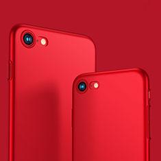 Schutzhülle Kunststoff Tasche Matt M10 für Apple iPhone SE (2020) Rot