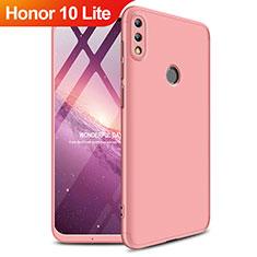 Schutzhülle Kunststoff Tasche Matt Vorder und Rückseite 360 Grad für Huawei Honor 10 Lite Rosegold