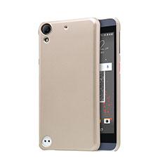 Schutzhülle Kunststoff Tasche Punkte Loch für HTC Desire 630 Gold