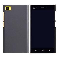Schutzhülle Kunststoff Tasche Punkte Loch für Xiaomi Mi 3 Schwarz