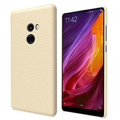 Schutzhülle Kunststoff Tasche Punkte Loch für Xiaomi Mi Mix 2 Gold
