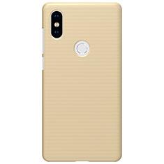 Schutzhülle Kunststoff Tasche Punkte Loch für Xiaomi Mi Mix 2S Gold