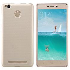 Schutzhülle Kunststoff Tasche Punkte Loch für Xiaomi Redmi 3X Gold