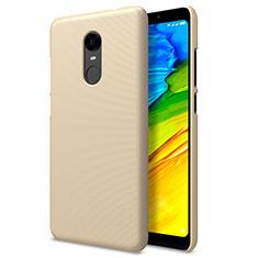 Schutzhülle Kunststoff Tasche Punkte Loch für Xiaomi Redmi 5 Plus Gold