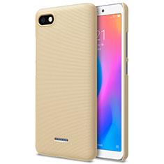 Schutzhülle Kunststoff Tasche Punkte Loch für Xiaomi Redmi 6A Gold