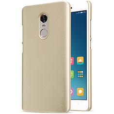 Schutzhülle Kunststoff Tasche Punkte Loch für Xiaomi Redmi Note 4X Gold