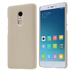 Schutzhülle Kunststoff Tasche Punkte Loch für Xiaomi Redmi Note 4X High Edition Gold