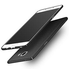 Schutzhülle Kunststoff Tasche Treibsand für Samsung Galaxy C9 Pro C9000 Schwarz
