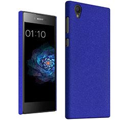 Schutzhülle Kunststoff Tasche Treibsand für Sony Xperia L1 Blau