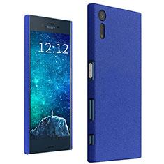 Schutzhülle Kunststoff Tasche Treibsand für Sony Xperia XZ Blau