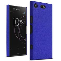 Schutzhülle Kunststoff Tasche Treibsand für Sony Xperia XZ1 Compact Blau