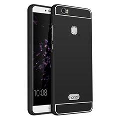 Schutzhülle Luxus Aluminium Metall für Huawei Honor Note 8 Schwarz