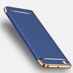 Schutzhülle Luxus Aluminium Metall für Xiaomi Mi Note Blau