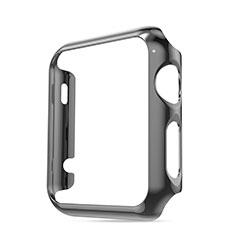 Schutzhülle Luxus Aluminium Metall Rahmen für Apple iWatch 3 42mm Grau