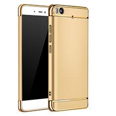 Schutzhülle Luxus Metall Rahmen und Kunststoff für Xiaomi Mi 5S Gold