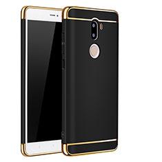 Schutzhülle Luxus Metall Rahmen und Kunststoff für Xiaomi Mi 5S Plus Schwarz