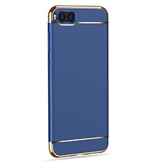 Schutzhülle Luxus Metall Rahmen und Kunststoff für Xiaomi Mi Note 3 Blau