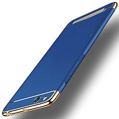 Schutzhülle Luxus Metall Rahmen und Kunststoff für Xiaomi Redmi 5A Blau