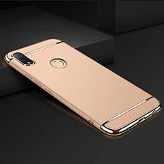 Schutzhülle Luxus Metall Rahmen und Kunststoff Schutzhülle Tasche M01 für Huawei Honor 8X Gold