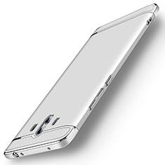Schutzhülle Luxus Metall Rahmen und Kunststoff Schutzhülle Tasche M01 für Huawei Mate 10 Silber